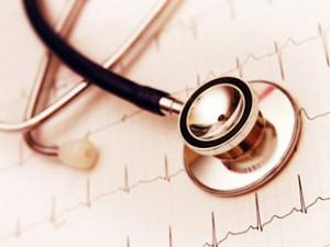 Kardiologie - EKG - Stethoskop