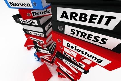 Kompschmerzen - Stress