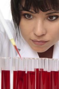 Laboranalyse des Blutbildes