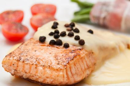 Fisch, rotes Fleisch, Bohnen und andere Lebensmittel enthalten viel Eisen