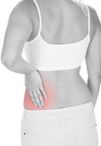 Zu den Beschwerden bei Nierenbeckenentzündung gehören auch oft einseitige Rückenschmerzen
